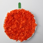 Elmer's Early Learners Academy Kids Project: Tissue Paper Pumpkins