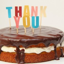 Thank You! and a Super Simple Boston Creme Pie Recipe!