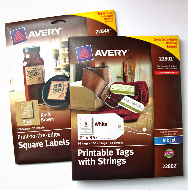 graphic regarding Avery Printable Stickers known as Guidebook: How in direction of Deliver Getaway Reward Tags with Avery Labels