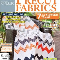 Craft Room Feature in Quilts from Precut Fabrics Magazine!
