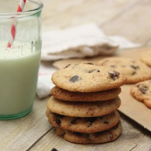 Gluten-Free Sea Salt Chocolate Chip Cookies