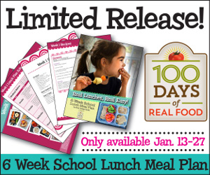 100 DAYS OF REAL FOOD EBOOK