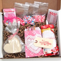 Decorate Your Own Valentine's Cookie-in-a-Box Kit