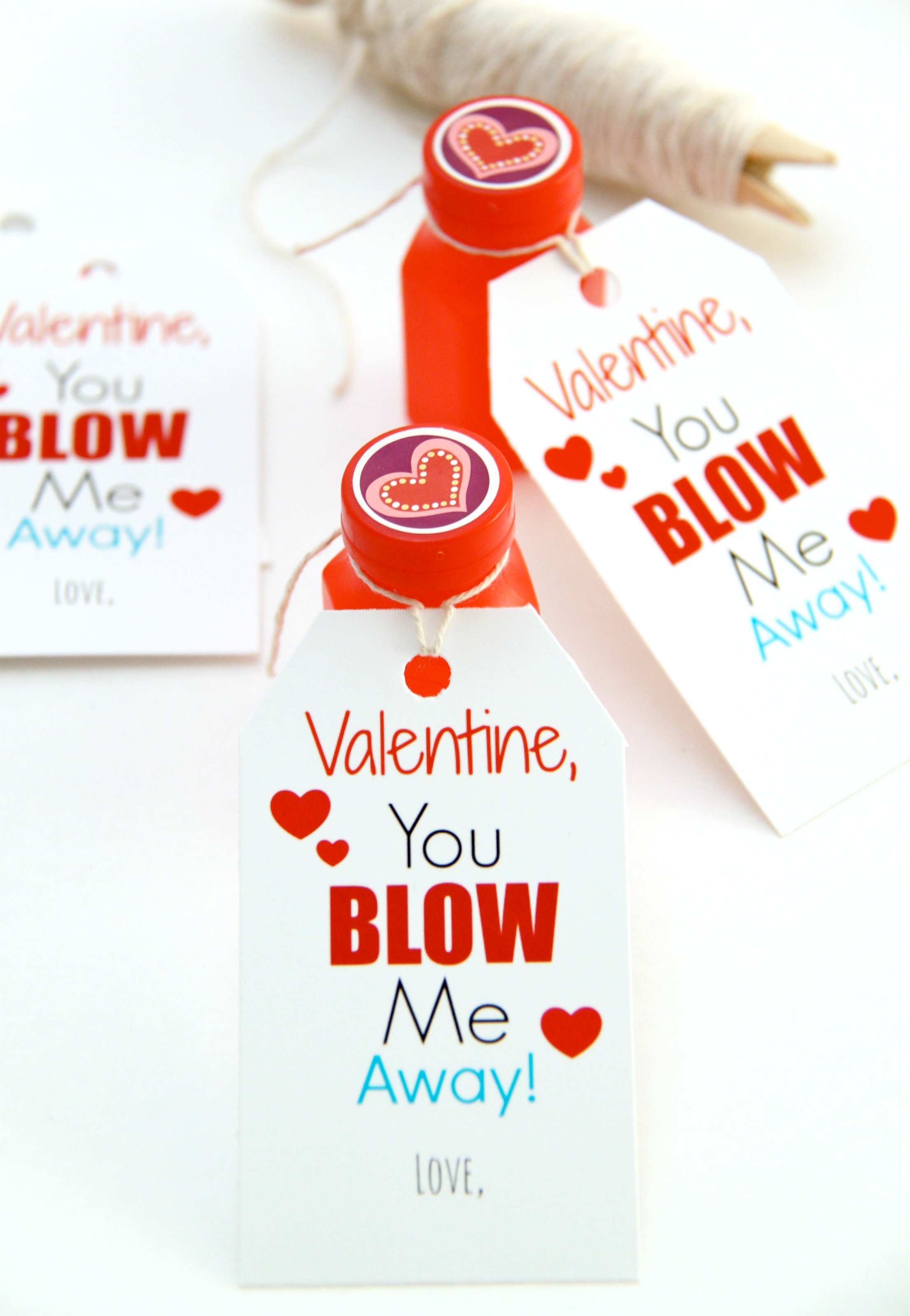 graphic regarding You Blow Me Away Valentine Printable known as Home made Valentines 2014 and a Totally free Printable! - Smashed