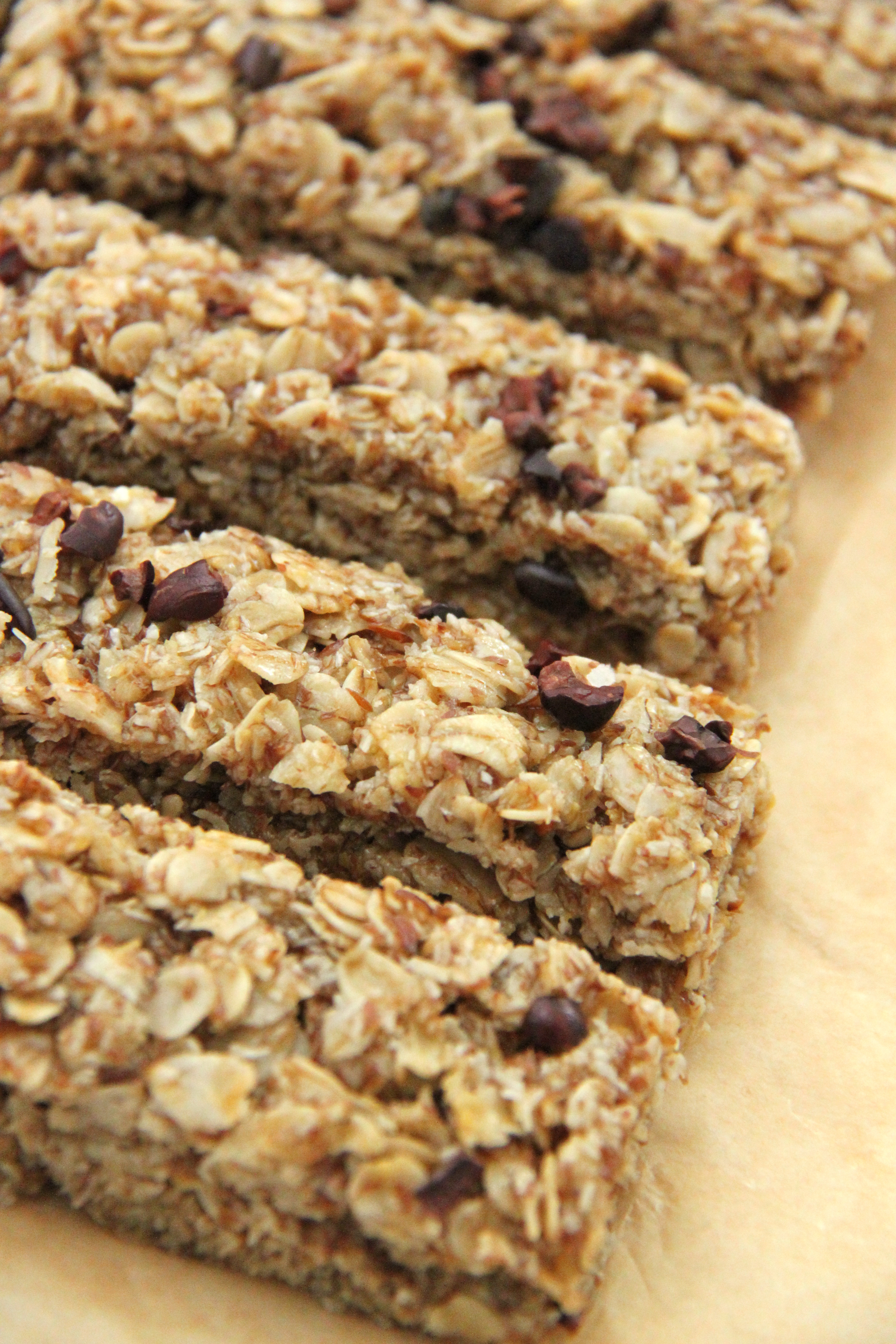 Gluten-Free Chewy Granola Bar Recipe - Smashed Peas & Carrots