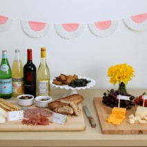 Wine and Cheese Crafternoon Party and a Chinet® Giveaway