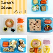 Bento Lunch Ideas: Week 11
