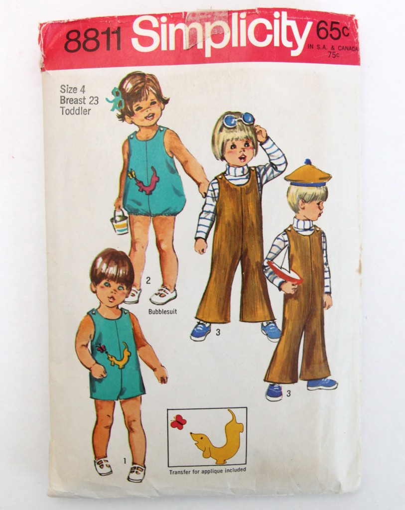 Ugly Duckling VIntage Pattern Blog Series