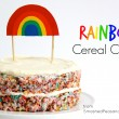 How to make a Rainbow Cereal Cake