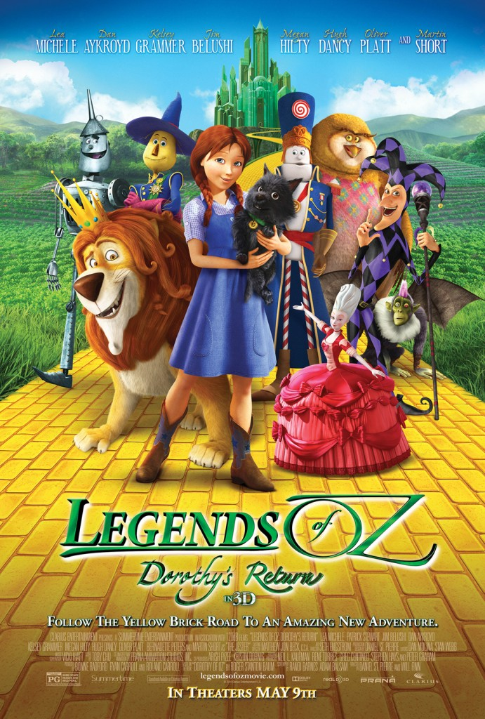 Legends of Oz starring Lea Michelle