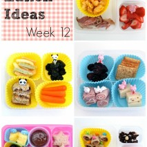 Bento Lunch Ideas: Week 12