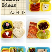 Bento Lunch Ideas: Week 13