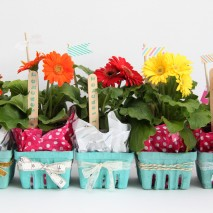Flower Berry Basket Teacher Appreciation Gifts