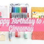 Happy Birthday to Me Giveaway!