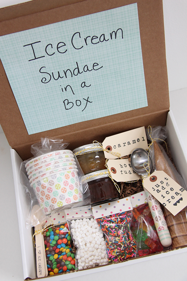 Then You Just Package Everything Up Nice And Tidy In A Box Send It On Its Way So Fun Such Great To Surprise Someone Brighten Their Day