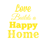 Love Builds a Happy Home-FREE Printable