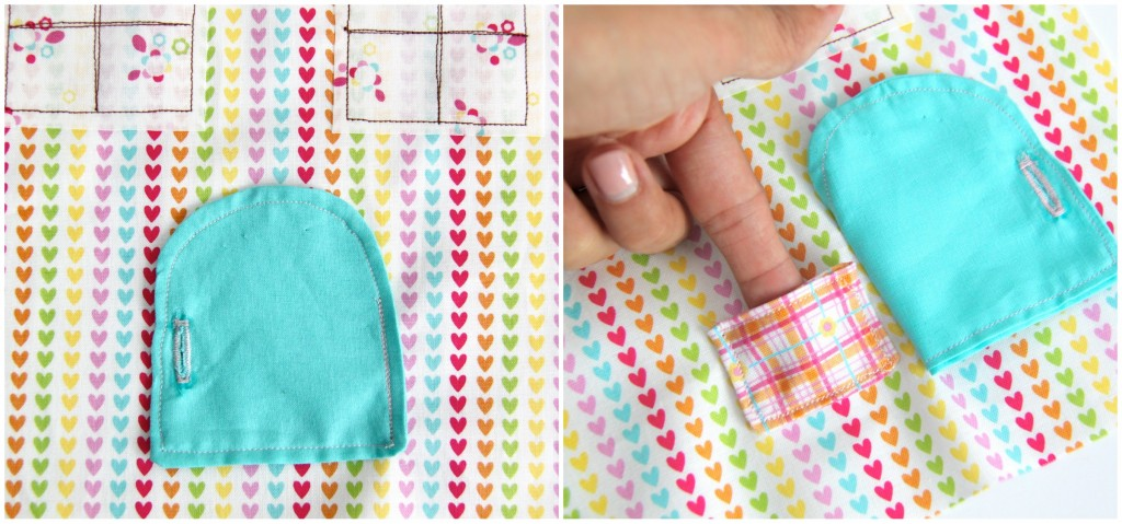 Tooth Fairy Pillow with Hidden Pockets! This is so cute and super easy to make!