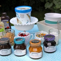 End of Summer Ice Cream Sundae Party and a Smucker's Giveaway!