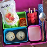 Cute and healthy lunch box ideas! #bento #rockthelunchbox