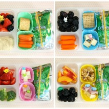 Healthy Back to School Bento Lunch Ideas: Round 2