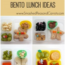 Easy and Healthy Bento Lunch Ideas: Round 1