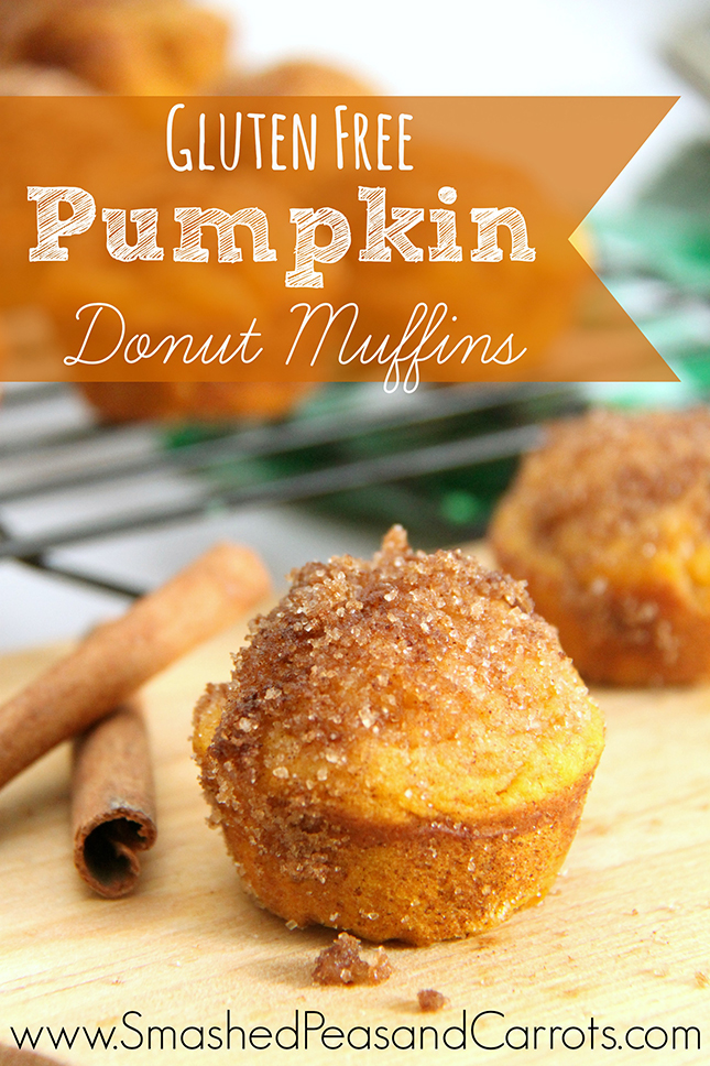 Gluten Free Pumpin Donut Muffin Recipe - Smashed Peas ...