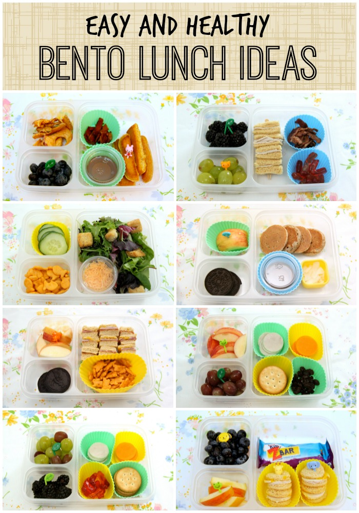 The ancient Japanese tradition of packing lunch in a bento box, a decorative container with small compartments, has now become mainstream. We love bento box lunches because the compartments help control portion sizes and they're great for kids too. Try these easy bento box lunch ideas to shake up your lunch routine.