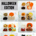 Easy and Healthy Halloween Bento Lunch Ideas! Love so many of these!