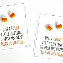 More Non-Candy Halloween Treats and Favors with FREE Printables