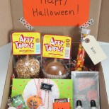 Love this Fall gift idea...Halloween in a Box! #Halloween #gifts