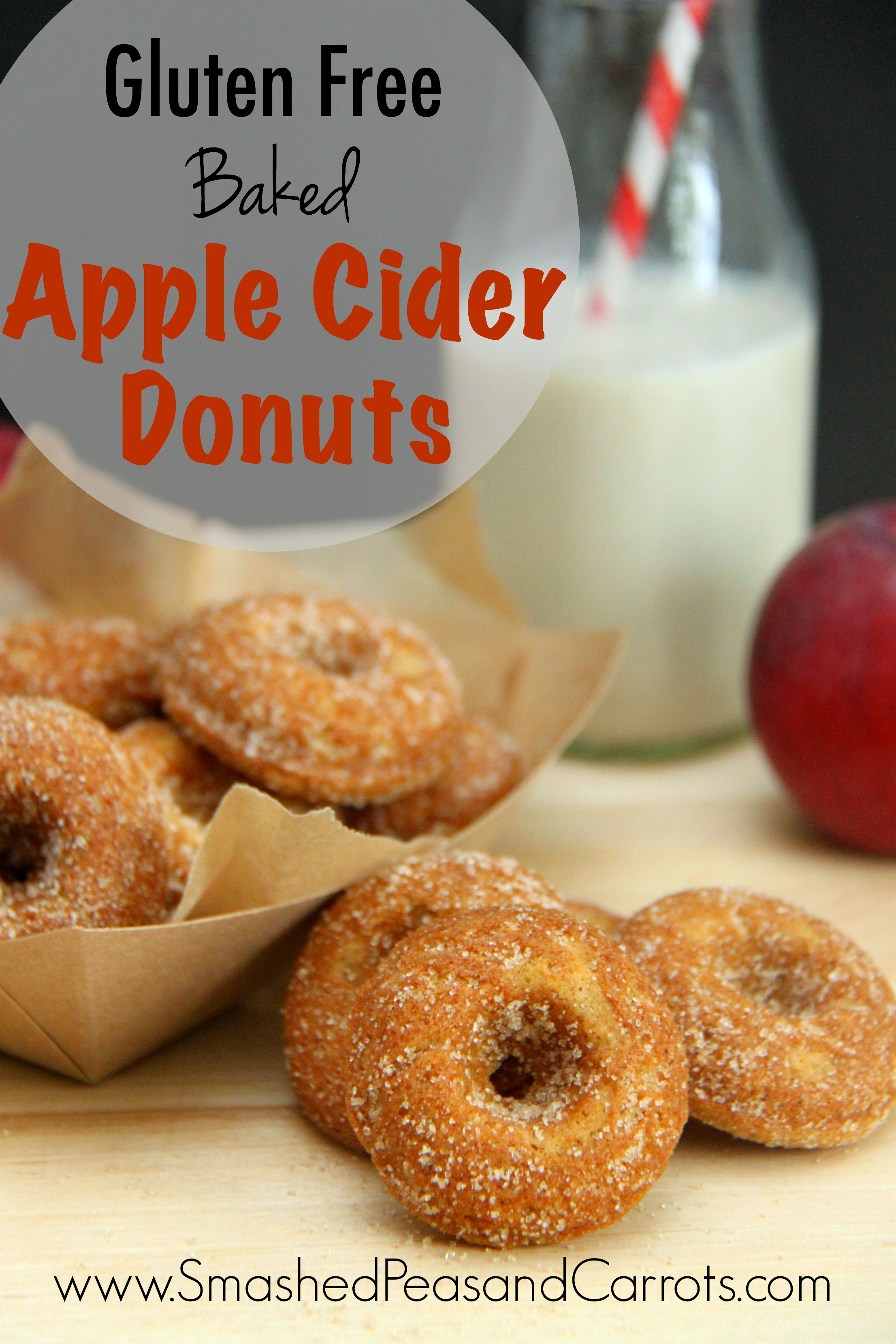 Gluten Free Baked Apple Cider Donut Recipe - Smashed Peas ...