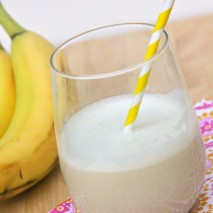 3 Ingredient Banana Smoothie Recipe