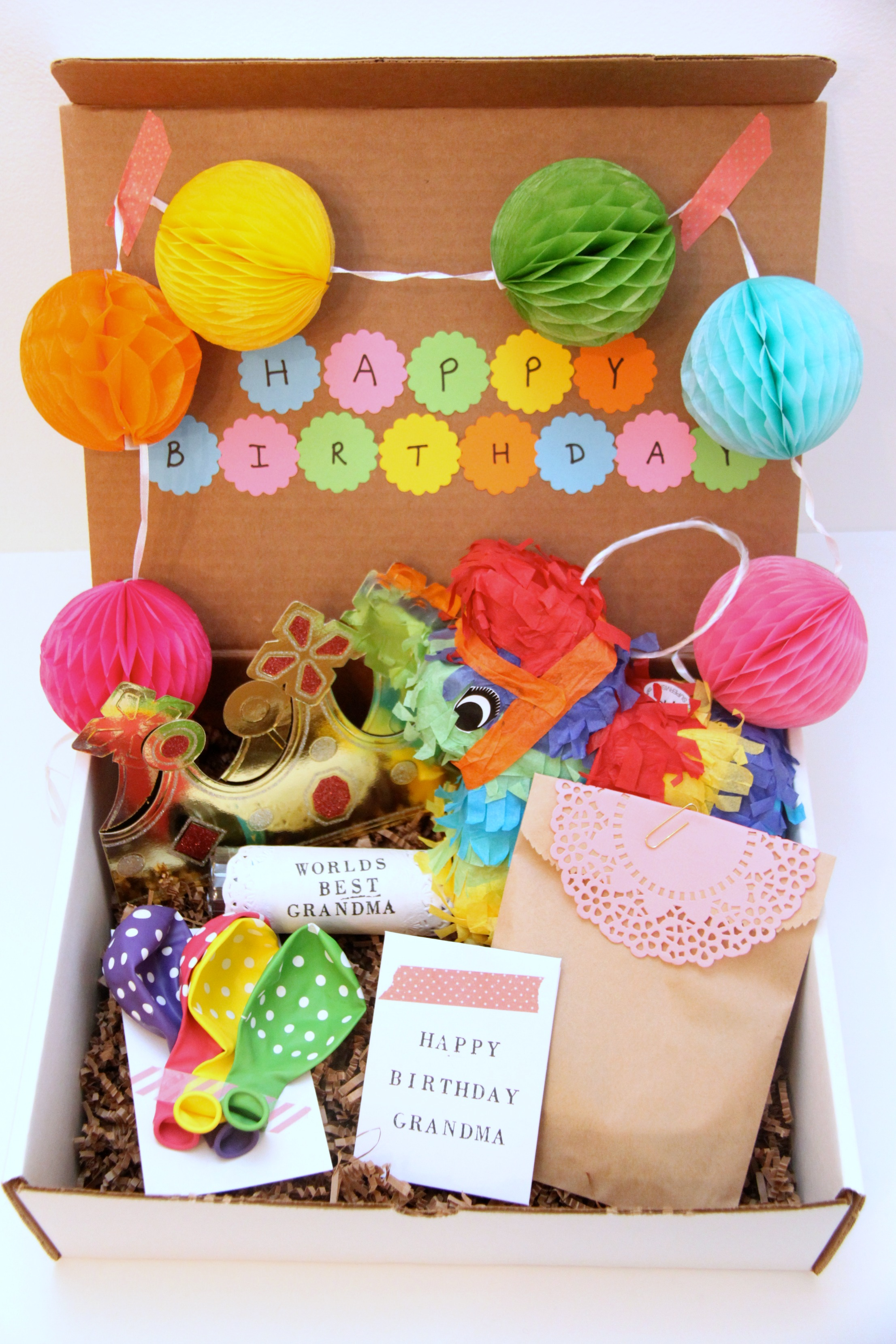 A Birthday-In-a-Box Gift for Grandma! - Smashed Peas & Carrots