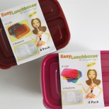 Easy Lunchbox Containers Review and Giveaway via SmashedPeasandCarrots.com