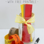 Thankful Jar with FREE Printable for a Thankful Paper Chain