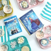 Frozen Read-Aloud and Movie Party