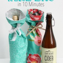 Tutorial: Make a Wine Bag in 10 Minutes