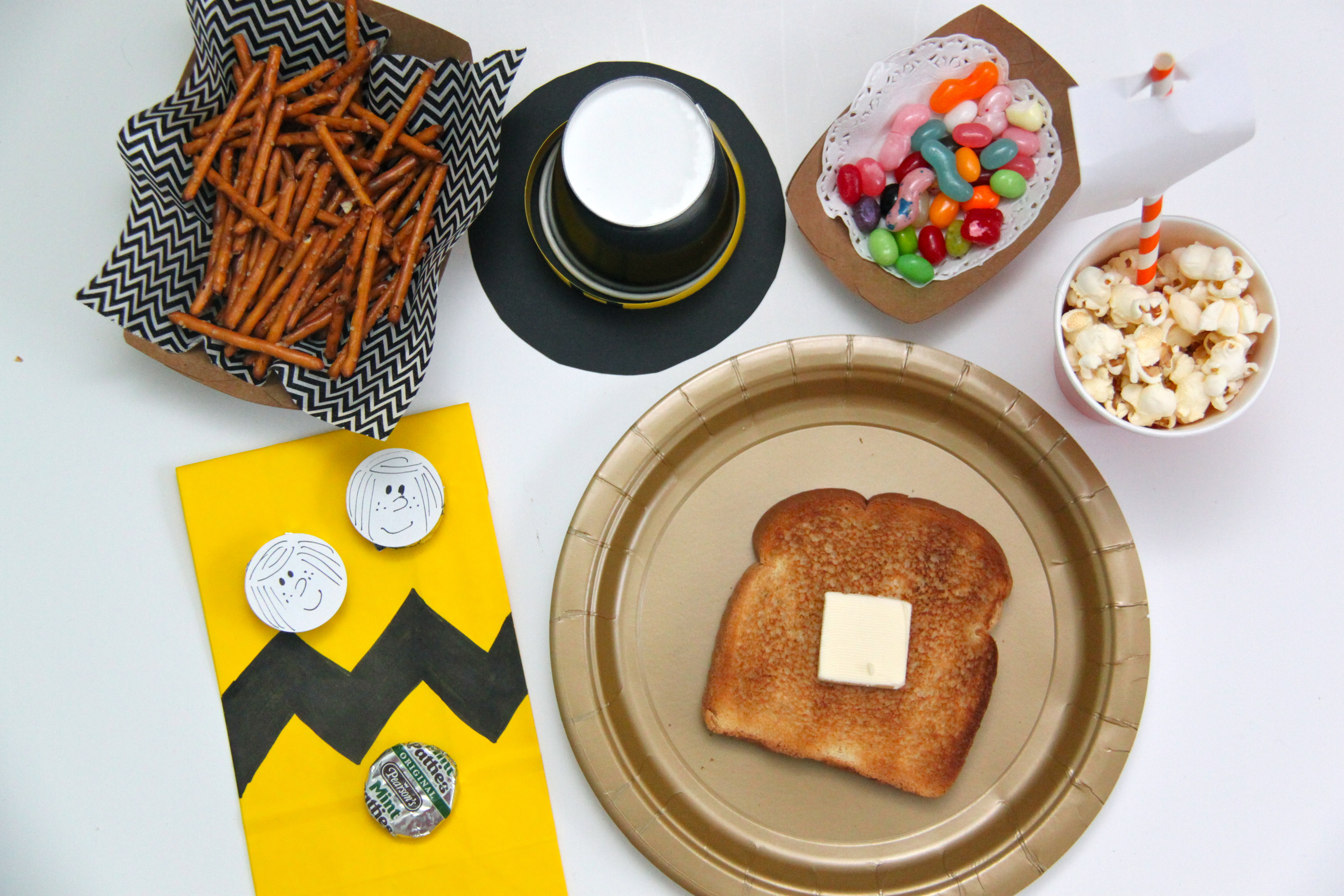 Charlie Brown Thanksgiving Read Aloud and Movie Party
