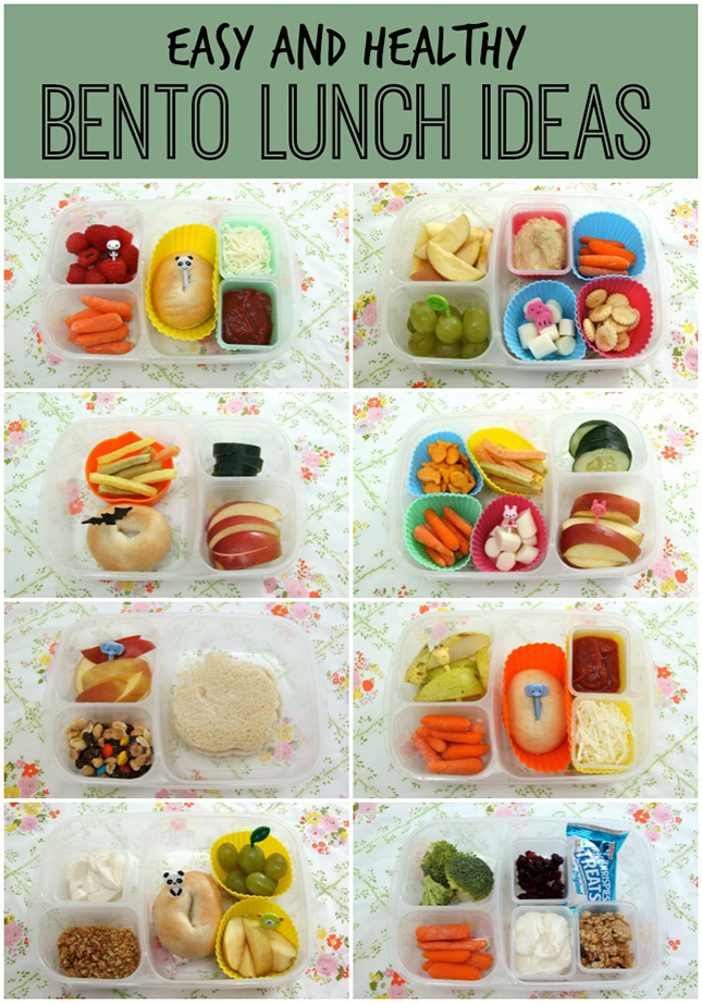 Easy And Healthy Bento Lunch Ideas Round 6 Smashed Peas Carrots