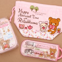 Rilakkuma Bento Lunch Set Giveaway!