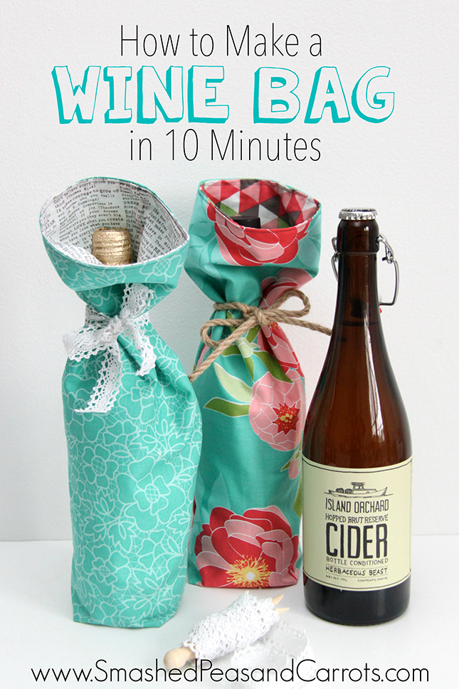 Tutorial Make a Wine Bag in 10