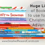 Huge List of Books to Use for a Christmas Book Advent