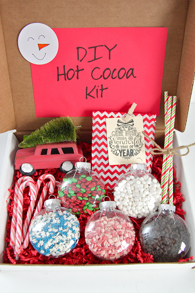 Gift Idea Diy Hot Cocoa Kit Smashed Peas Amp Carrots