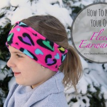 How to Make Your Own Fleece Ear Warmers