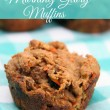 Gluten Free Morning Glory Muffin Recipe using better-for-you- ingredients