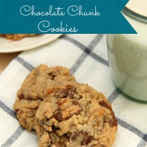 Double Peanut Butter Chocolate Chunk Cookie Recipe