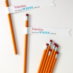 FREE Printable: Valentine, you are all WRITE with me