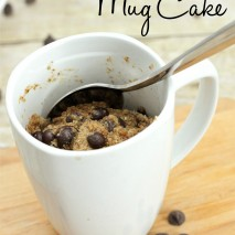 Paleo Mug Cake Recipe (Gluten and Dairy Free)