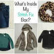 Stitch Fix box from Smashed Peas and Carrots