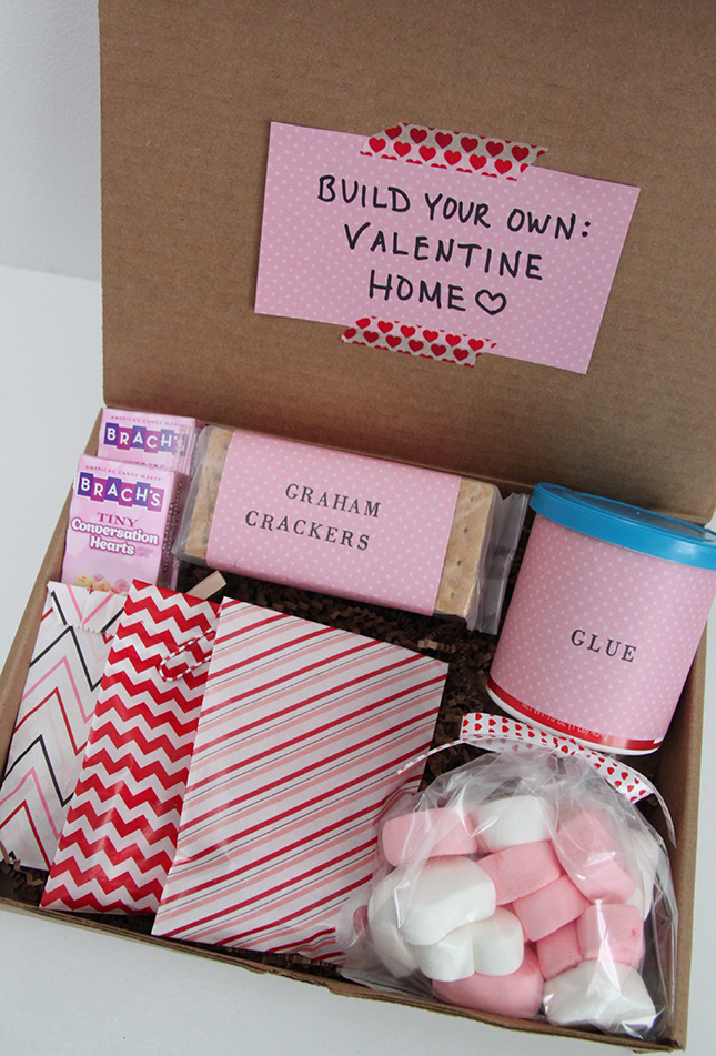 Gift idea build your own valentine home kit smashed peas carrots then i just packed them up in kraft boxes and headed out with my littles to deliver some valentine y fun to others so fun solutioingenieria Choice Image